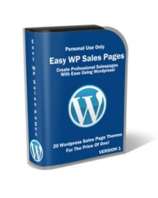 Product picture Easy Sales Page For WordPress